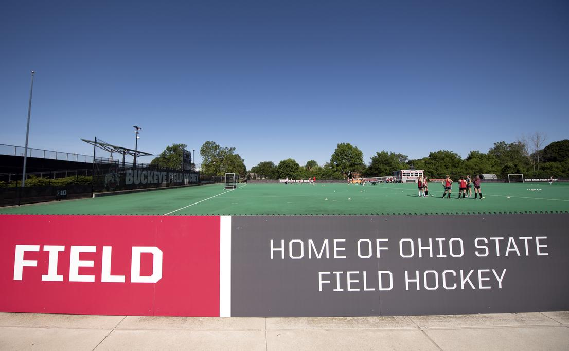 OSU field hockey at The Ohio State University Athletic Sub-District master planning by EDGE.